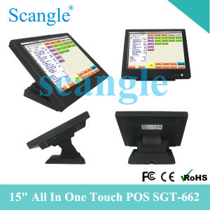 15inch All in One Touch Screen POS System Sgt662 pictures & photos