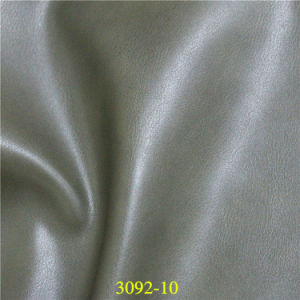 High Abrasion Resistance Vehicle Upholstery PU Synthetic Automotive Leather pictures & photos