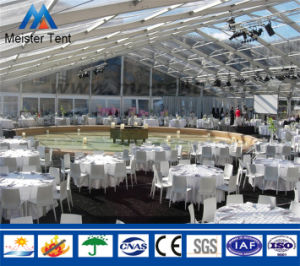 Big Modular Wedding Party Tent with Wooden Flooring pictures & photos