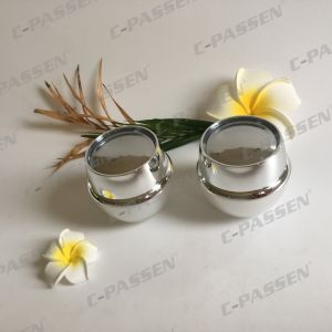 50g Pearl White Acrylic Cream Jar for Cosmetic Packaging (PPC-ACJ-118) pictures & photos
