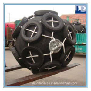 Yokohama Type Pneumatic Rubber Fenders with Chain Tyre Net pictures & photos