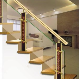 High Quality Interior Stainless Steel Aluminum Carved Stair Fittings Column pictures & photos