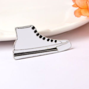 Fashion Enamel Sneaker Gym Shoes Alloy Pin Brooch Jewelry Gift pictures & photos