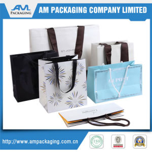 Dongguan Bespoke Luxury Apparel Paper Bag Shopping Bags Packaging pictures & photos