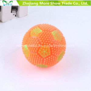Flashing Sounding Light-up Spiky Puffer Massaging Football Toys pictures & photos