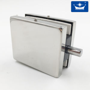 Glass Door Lock with Latch/Lock Fitting Mirror Finish pictures & photos