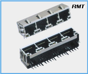 RJ45 Connector (RMT-56-3356S-LED) pictures & photos