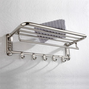 304 Stainless Steel Bathroom Accessory Towel Rack (838) pictures & photos