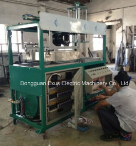 Cheap Price Small Semi-Auto Plastic Blister Vacuum Forming Machine pictures & photos