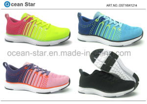 Flyknit Lady High Quality Sports Shoes pictures & photos