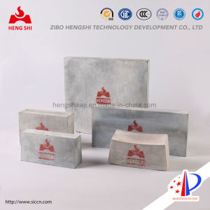 Silicon Nitride Bonded Silicon Carbide Bricks Used for Furnace in Aluminum and Metallurgy Industry pictures & photos