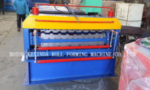 Double Layer Cold Steel Roofing Sheet Roll Forming Machine pictures & photos