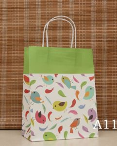 Hot Sell Twisted Handle Paper Bag with Good Price pictures & photos
