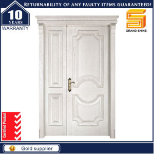 Apartment Modern Interior/Exterior Wooden Solid Knotty Alder Door Made in China pictures & photos