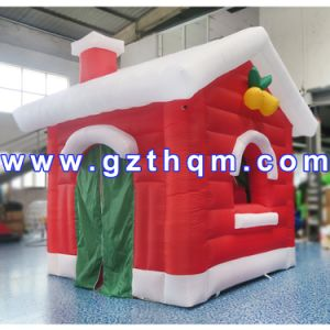 Christmas Inflatable Baby Bouncer House/Inflatable Christmas House for Party Decoration pictures & photos