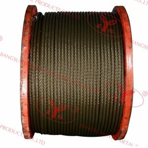 Ungalvanized Steel Wire Ropes - 6X36ws pictures & photos