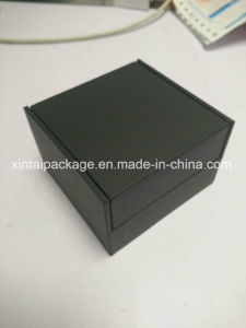 Elegant Black Cufflink Box
