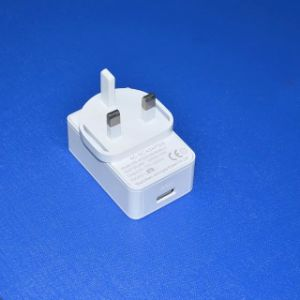 UK Plug 5V 3A USB Port Power Adapter pictures & photos