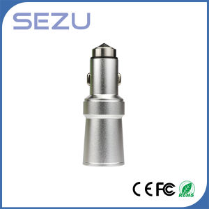 Cigarette Lighter USB Car Charger with Purifier Function and Safety Hammer pictures & photos