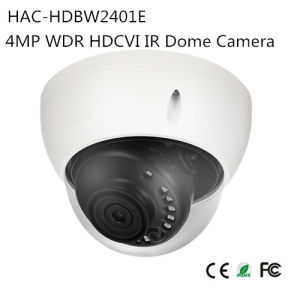 4MP WDR Hdcvi IR Dome Camera (HAC-HDBW2401E) pictures & photos