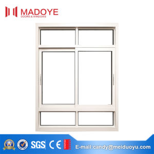 White Sliding Window with Aluminum Frame pictures & photos