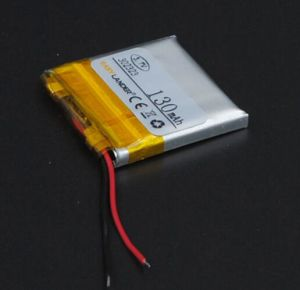 302323 3.7V 130mAh Li Polymer Battery for MP3/MP4/Game Player Mouse GPS PSP Lamp Speaker pictures & photos