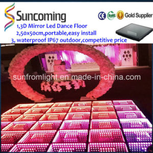 Mirror Effect 3D LED Dance Floor for Disco Party pictures & photos