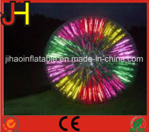 Portable Inflatable LED Lighting Roller Zorb Ball on Grass pictures & photos