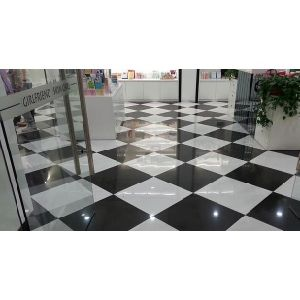 Polished Porcelain Tiles (Super White Series) with Nano pictures & photos
