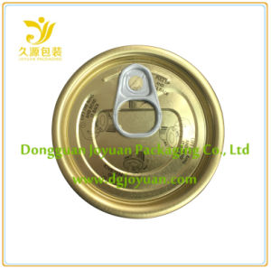 Full Open 65mm Easy Open Can Lids, Metal Container Eoe Can Cap (211# (65mm)) pictures & photos