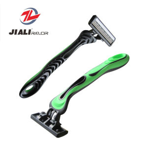 Disposable Travel Use Men′s Shaving Product Triple Blade Razor pictures & photos