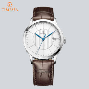 Luxury Brand Men Quartz Watches Genuine Leather Waterproof Casual Wrist Watch for Business 72687 pictures & photos