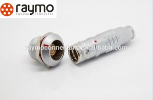 Raymo K Series Fgg and Egg IP68 Waterproof Circular Connector Panel Mount Plug and Cable Socket Lemos Connnectors pictures & photos