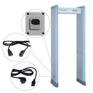300 Level High Sensitivity Archway Metal Detectors 18 Zones Walk Through Metal Detectors pictures & photos
