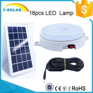 6V8w 18p-2835-LED 396-450lumen Light Control Solar Lamp SL1-8W pictures & photos