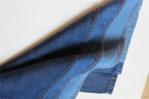 100% Lyocell Indigo Denim for T-Shirt pictures & photos