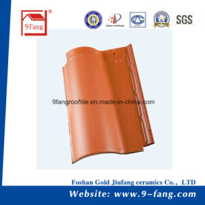Hot Sale Clay Roman Roof Tile Factory Supplier Ceramic Roofing Tiles pictures & photos