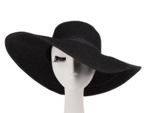 Women′s Big Brim Straw Hat pictures & photos