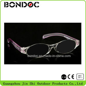 Most Fashionable Pink Frame Mono Reading Glasses pictures & photos