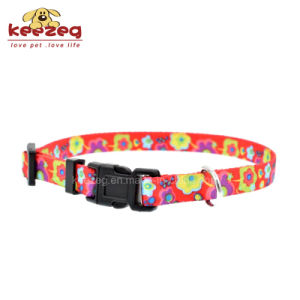 New Style Nylon Transfer Printing Dog Cat Collars (KC0094) pictures & photos