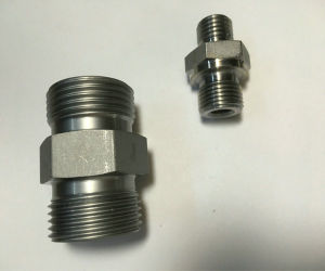 Male Straight Hose Fitting Connector Hose Adaptor Hydraulic Fitting pictures & photos