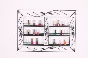Hot Sale Decoration Metal Nail Polish Organizer pictures & photos