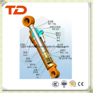 Doosan Dh130-7 Arm Cylinder Hydraulic Cylinder Assembly Oil Cylinder for Crawler Excavator Cylinder Spare Parts pictures & photos