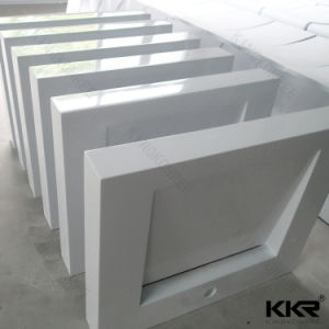 Custom Hotel Solid Surface Bathroom Wash Basin pictures & photos