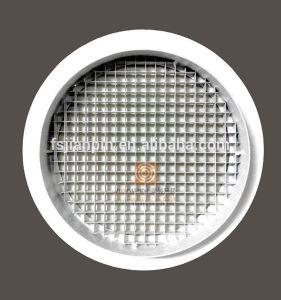 Indoor Ventilation Durable Circular Grid Grilles Duct Ceiling Eggcrate Diffuser pictures & photos