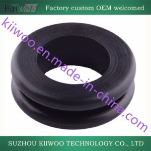 Rubber to Metal OEM Molded Silicone Rubber Part pictures & photos