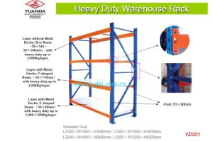 Warehouse Adjustable Heavy Duty Steel Selective Storage Pallet Rack pictures & photos