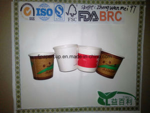 Coffee Cup Single Wall Paper Cup with Lid pictures & photos