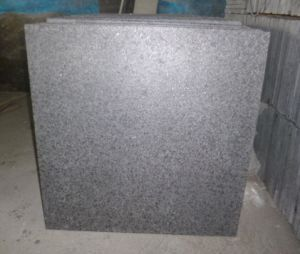 Black Granite G684, Nero Granite, Fuding Black, Black Pearl Flamed Tiles pictures & photos