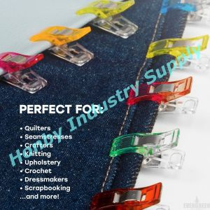 Wonder Craft Plastic Clips for Sewing, Crochet and Knitting pictures & photos